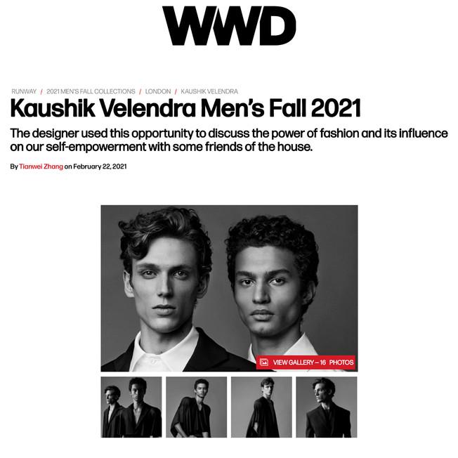 Kaushik Velendra Men's Fall 2021