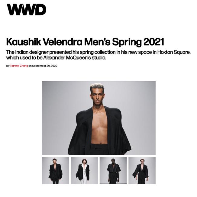 Kaushik Velendra Men's Spring 2021