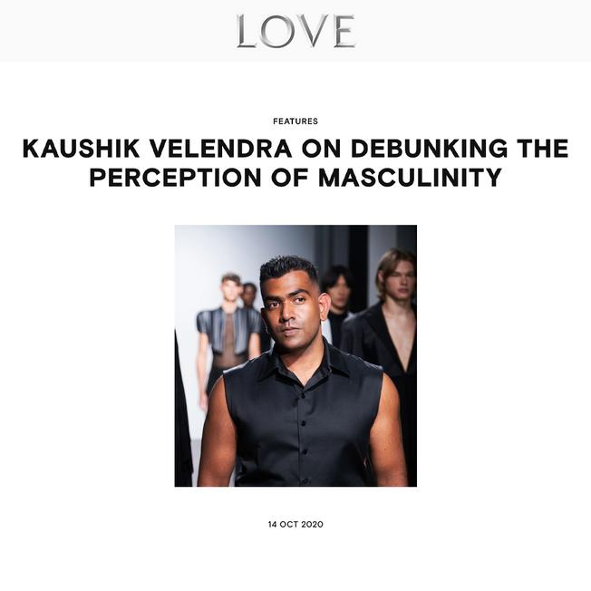 Kaushik Velendra on Debunking the Perception of Masculinity