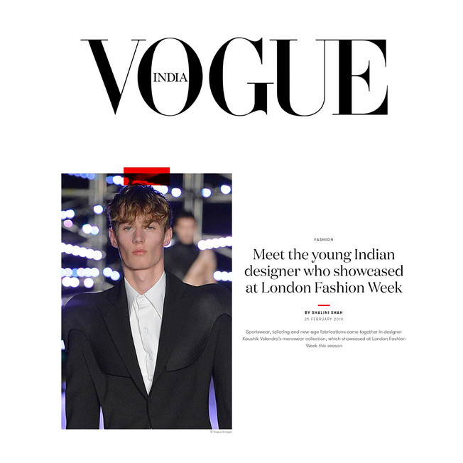 Meet the young Indian designer who showcased at London Fashion Week