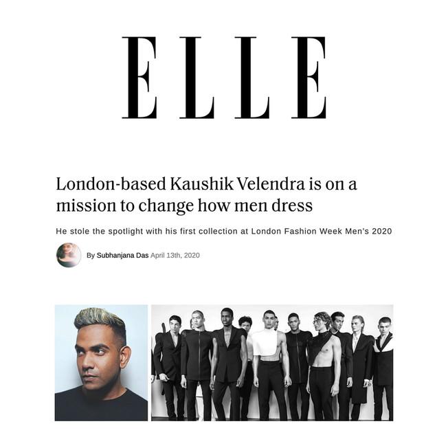 London-based Kaushik Velendra is on a mission to change how men dress