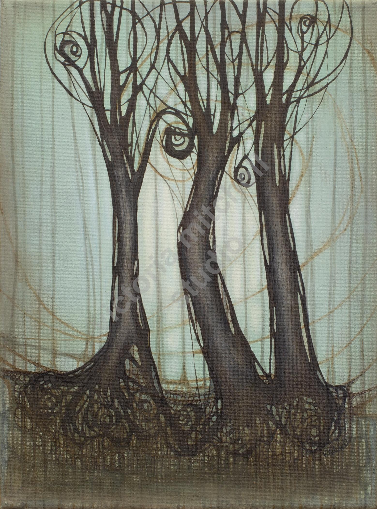 Winding Trees