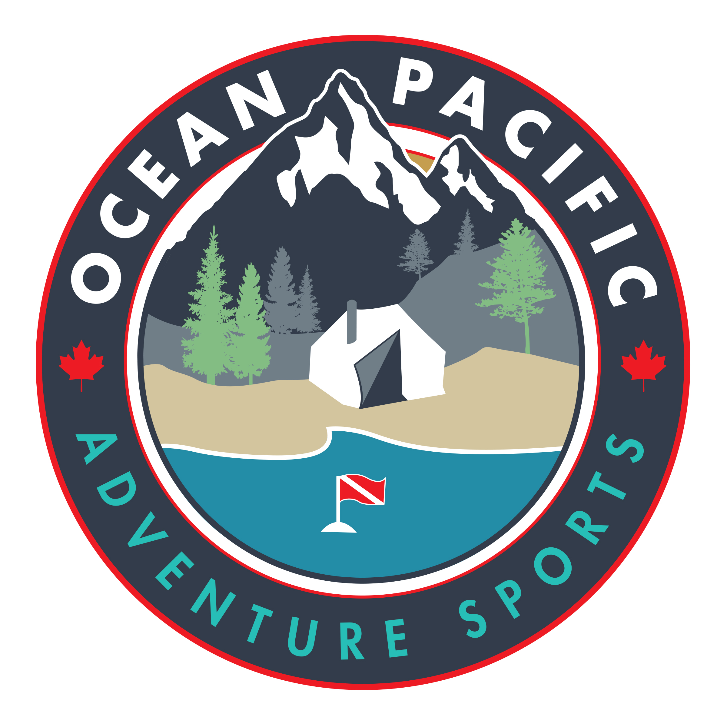 Ocean Pacific Adventure Sports Logo