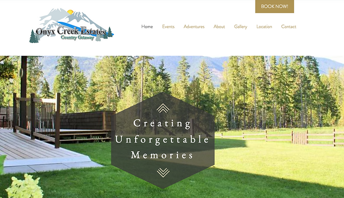 ONYX CREEK WEBSITE