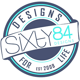 SIXTY84 GRAPHIC DESIGN Logo, Kamloops BC