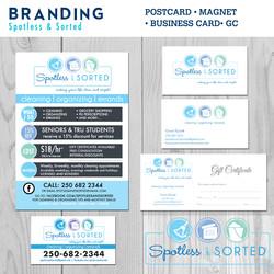 Spotless & Sorted Branding