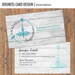 Amazing Inspirations business Card
