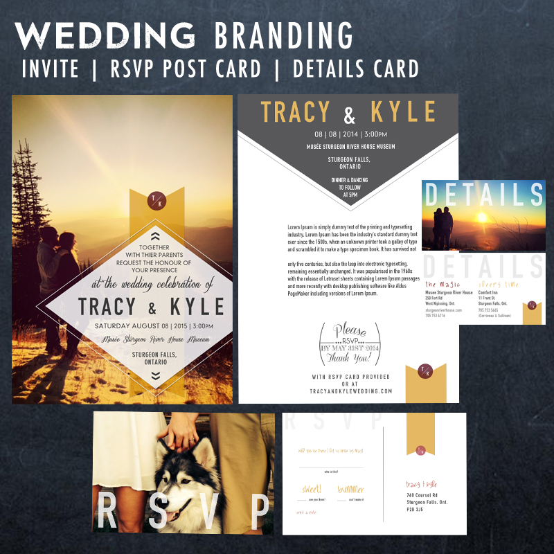 Custom Wedding Branding