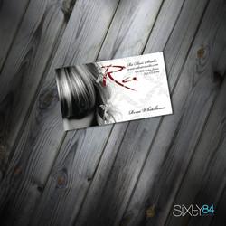 Ra Hair Salon business cards