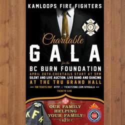 KFDR Charitable Gala Poster
