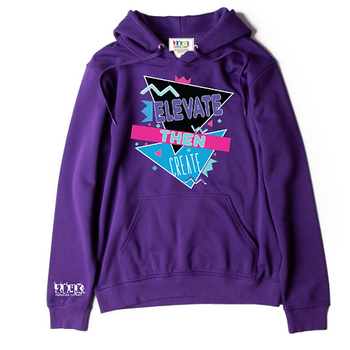 Surfboy Elevate Purple Hoodie