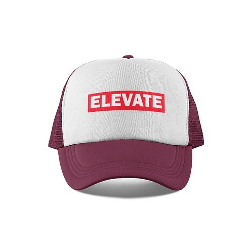 Elevate Higher Maroon/White Trucker Hat