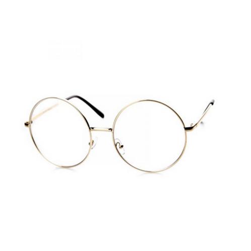 Clear Oversized Frame Glasses
