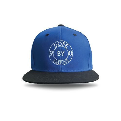 Dope Blue White Black Snapback Naughty By Nature 90s Hip Hop