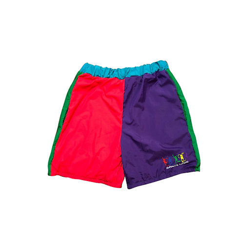2D4K Colorblock Winbreaker Kids Shorts