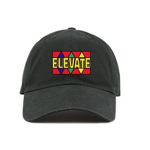 Black Elevate Dad hat