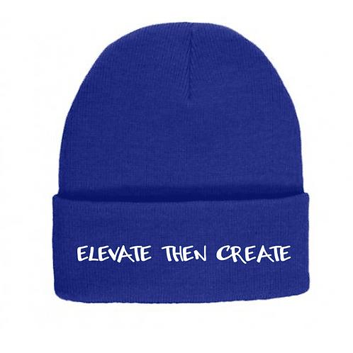 Elevate then Create beanie