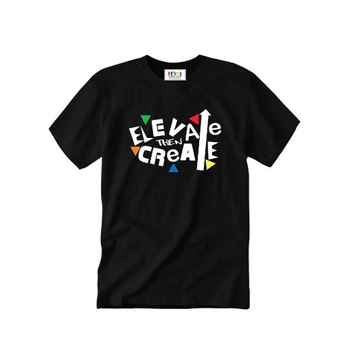 Elevate Then Create 90s Kids Tee