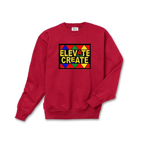 Elevate then Create Kids Sweatshirt