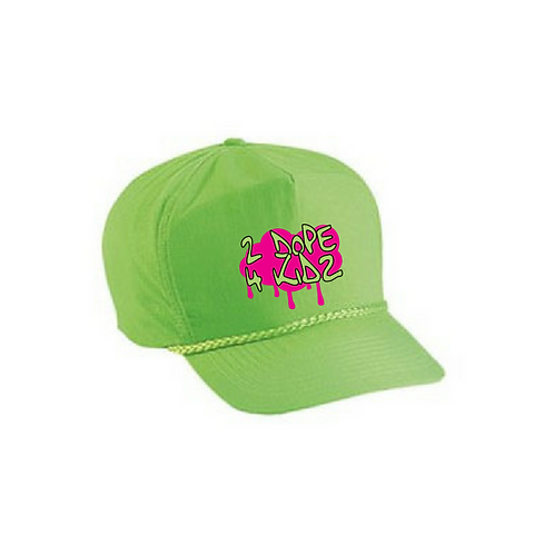 Fresh Prince Neon Green Snapback