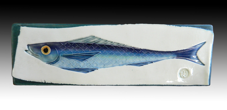 small fish plaque
