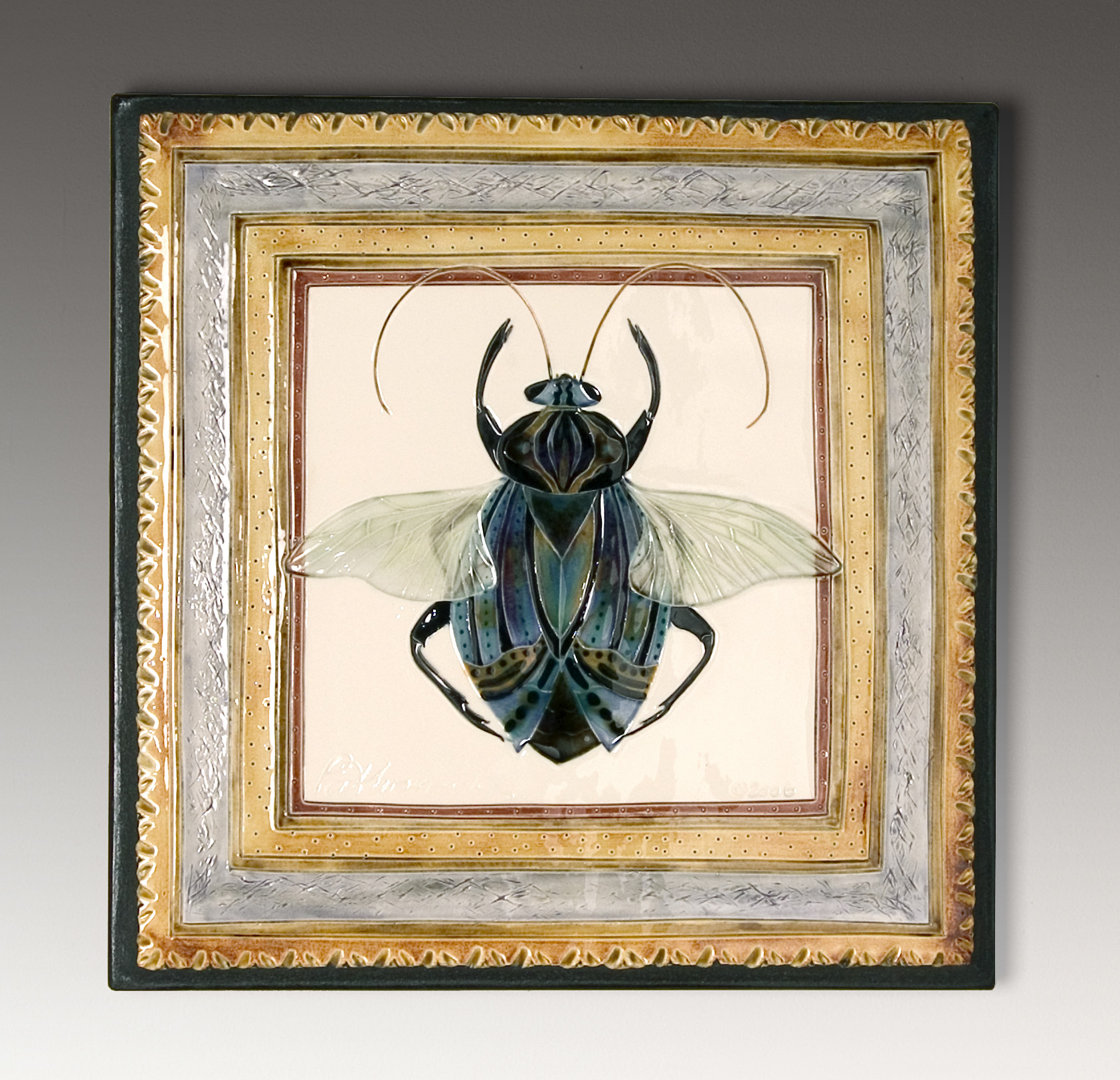 Beetle Plaque
