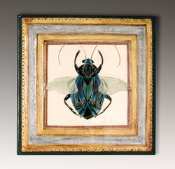 Beetle Plaque