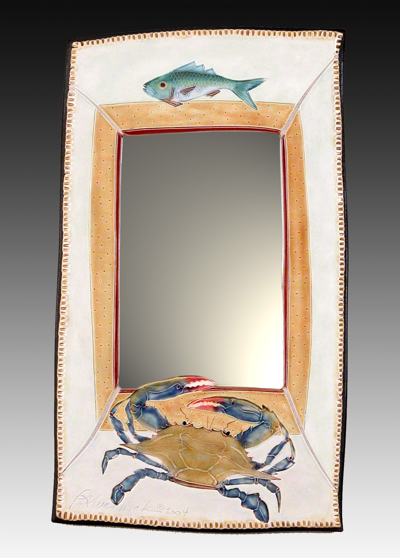 Crab & Fish Mirror
