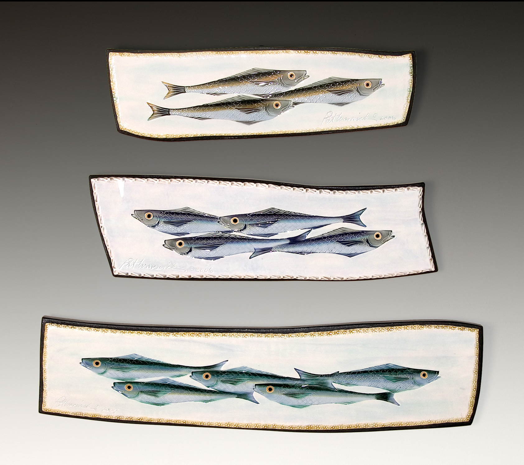 Swimming Fish Plaques