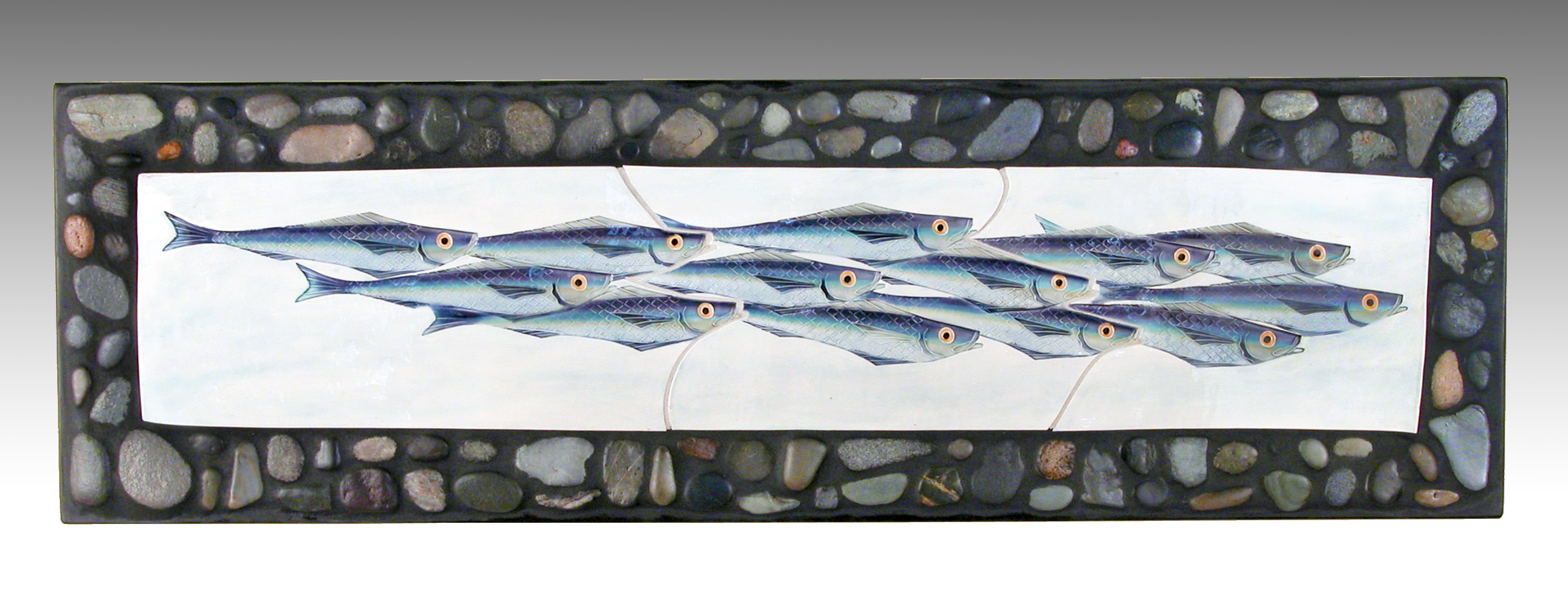 Fish School Plaque