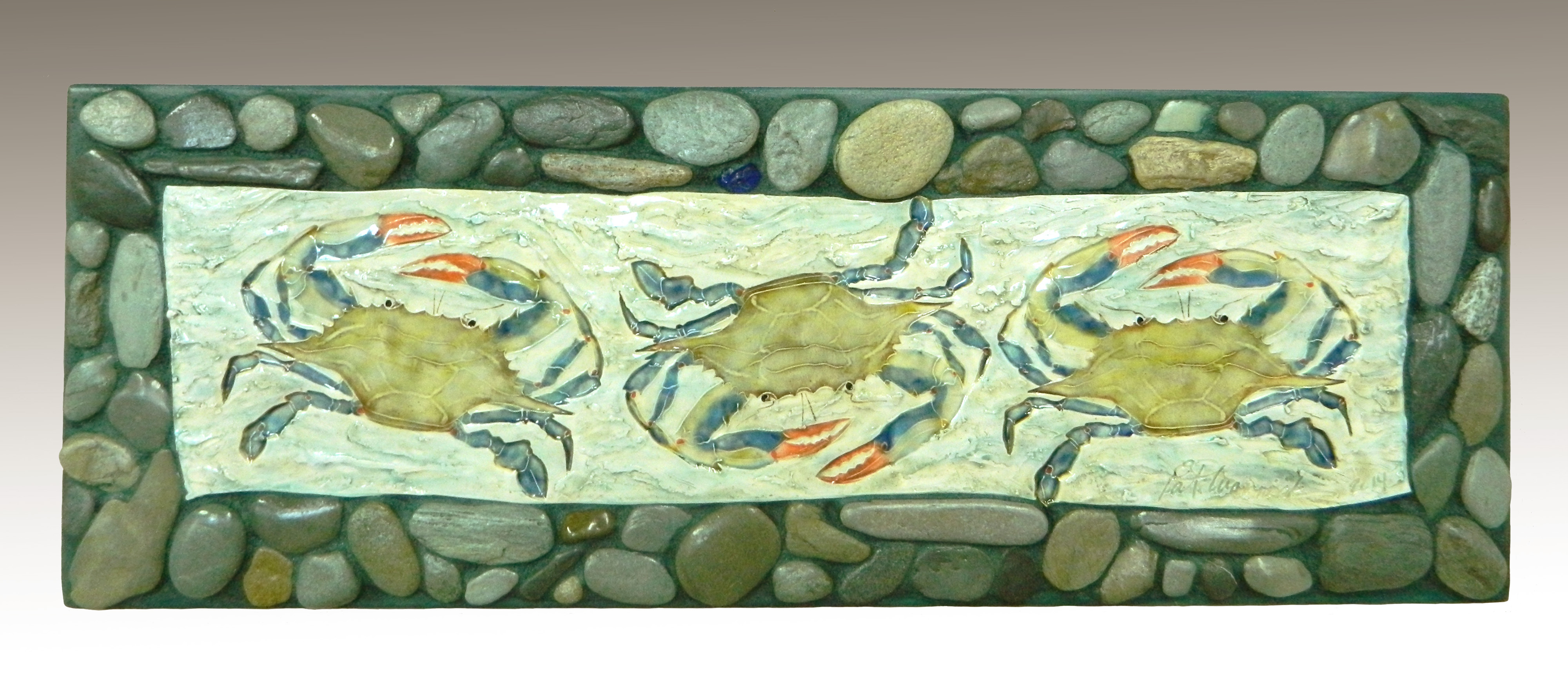 crab plaque