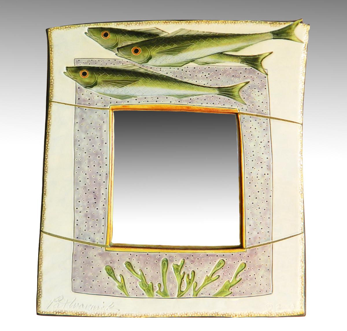 fish mirror
