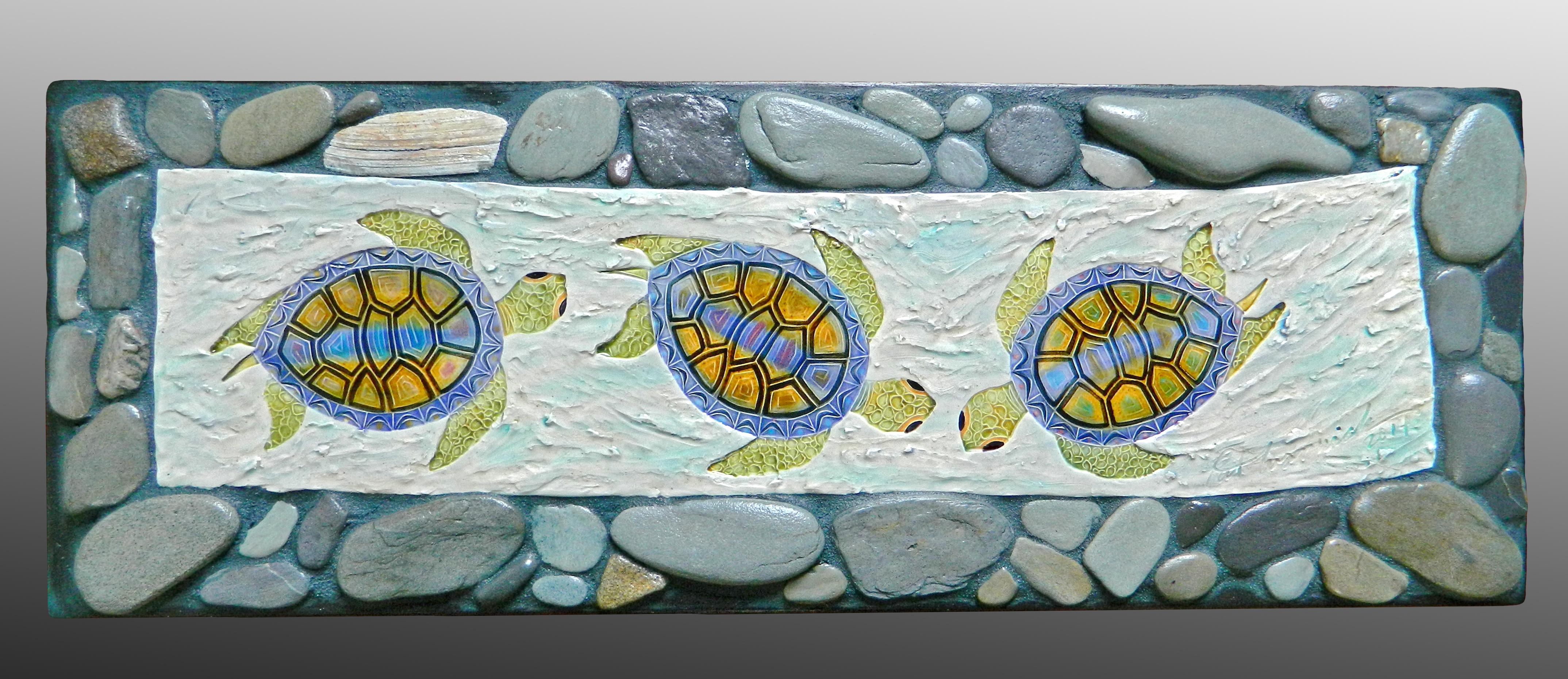 River Stone Turtle