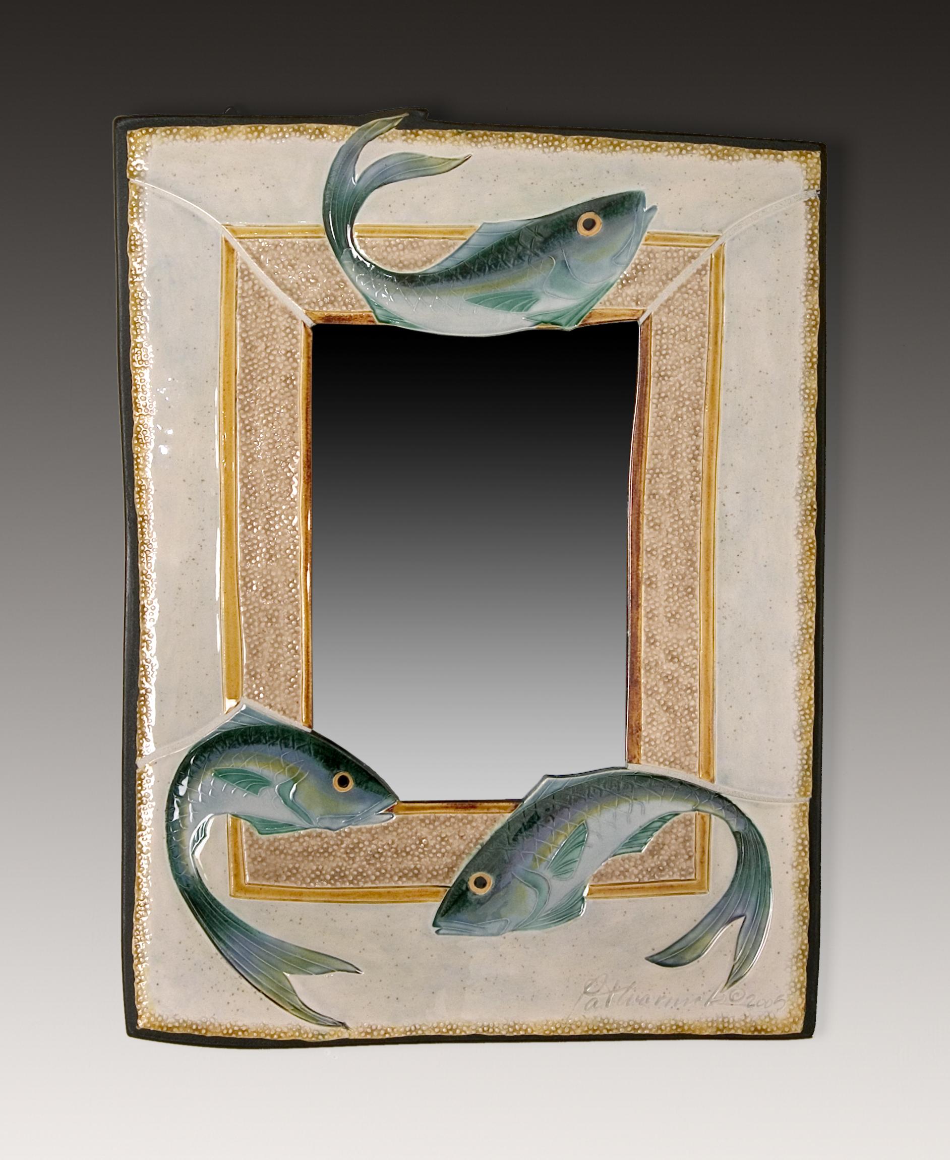 3 Jump Fish Mirror