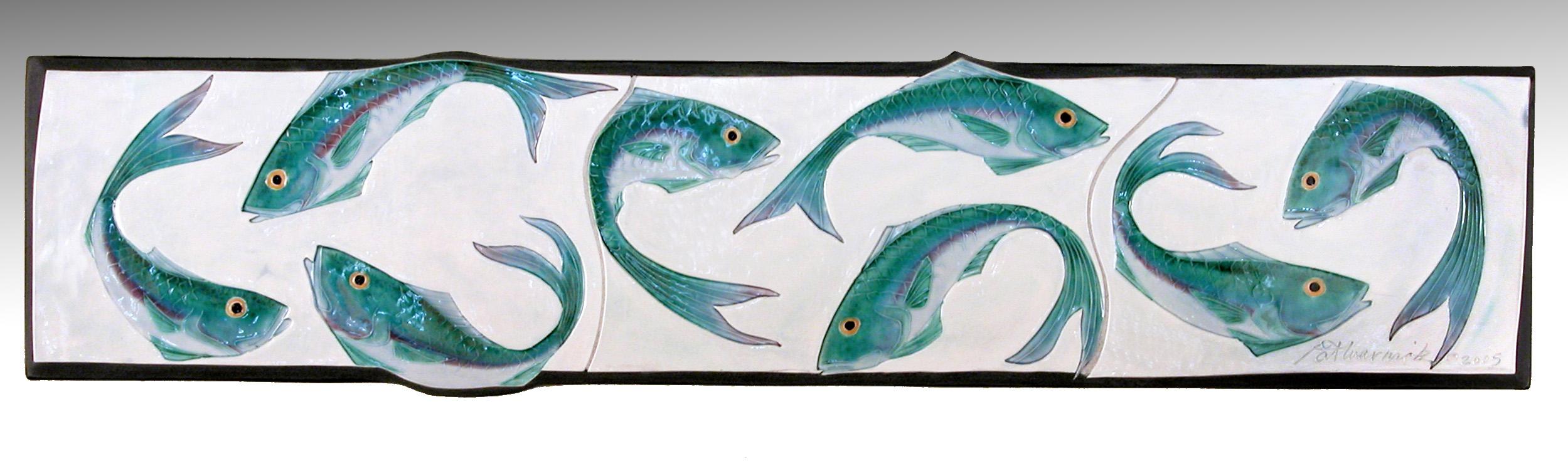 Dancing Fish Plaque