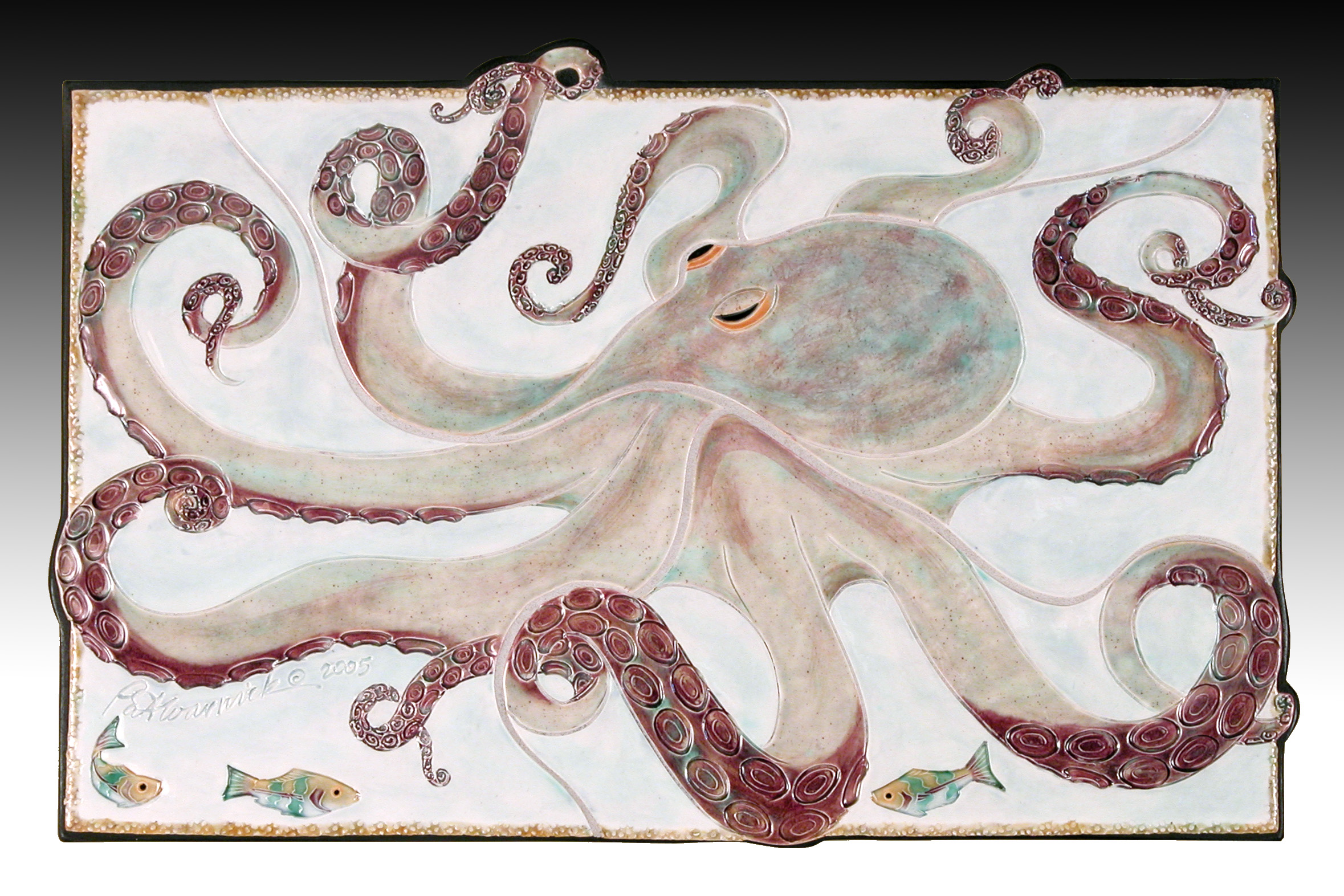 Octopus Play Wall Hanging