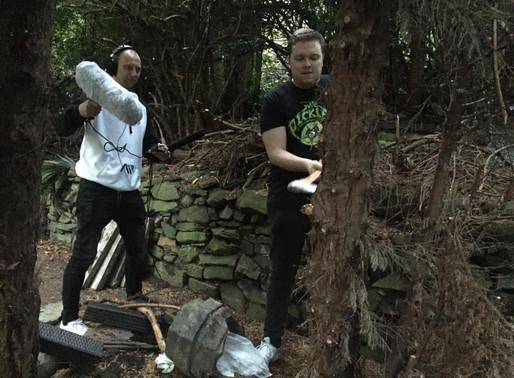 Recording Foley: Axe and Hammer