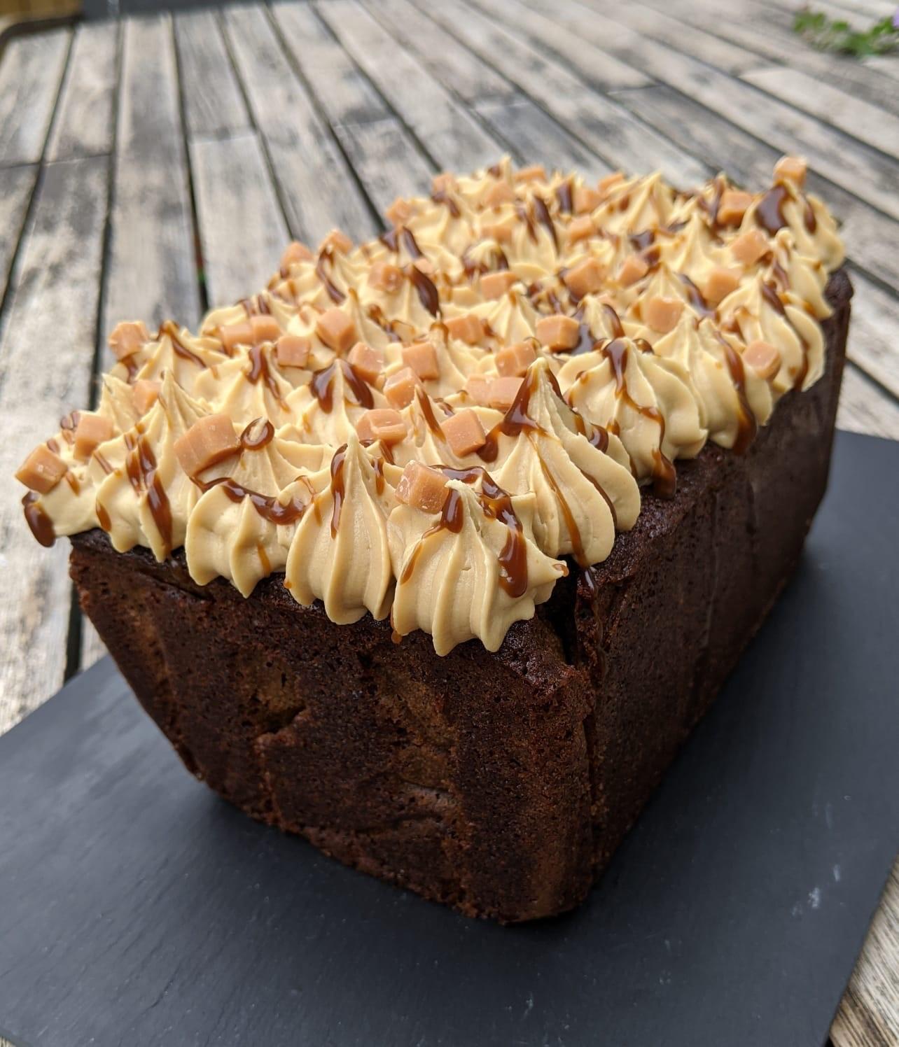 Sticky Toffee Loaf Cake