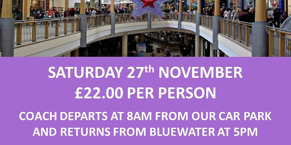 Bluewater Shopping Trip