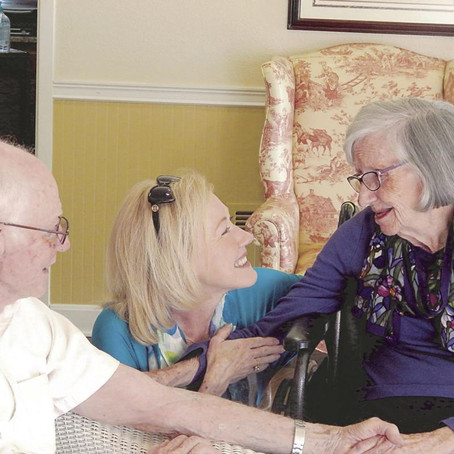 Local couple still holding hands after 70 years