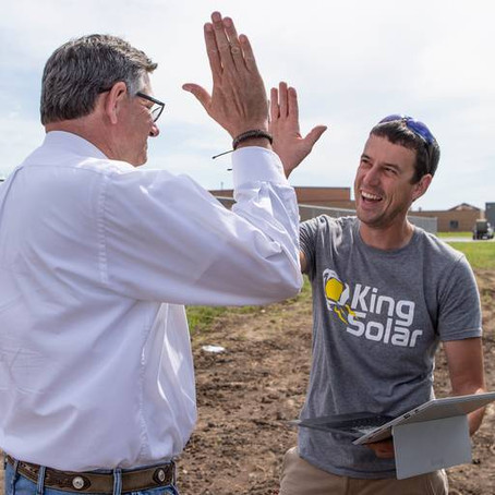 Sedgwick County school now has one of Kansas' largest privately-owned solar power system