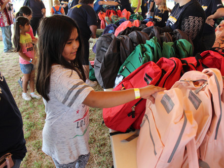Wichita community event offers free groceries, school supplies, fun to families