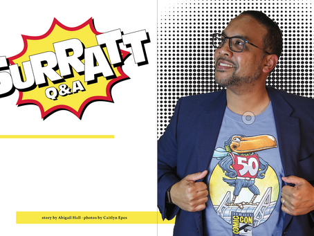 David Surratt expresses love of comic books, experience at San Diego Comic-Con