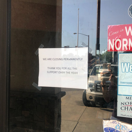 Norman sushi restaurant 180 Meridian Grill closes permanently