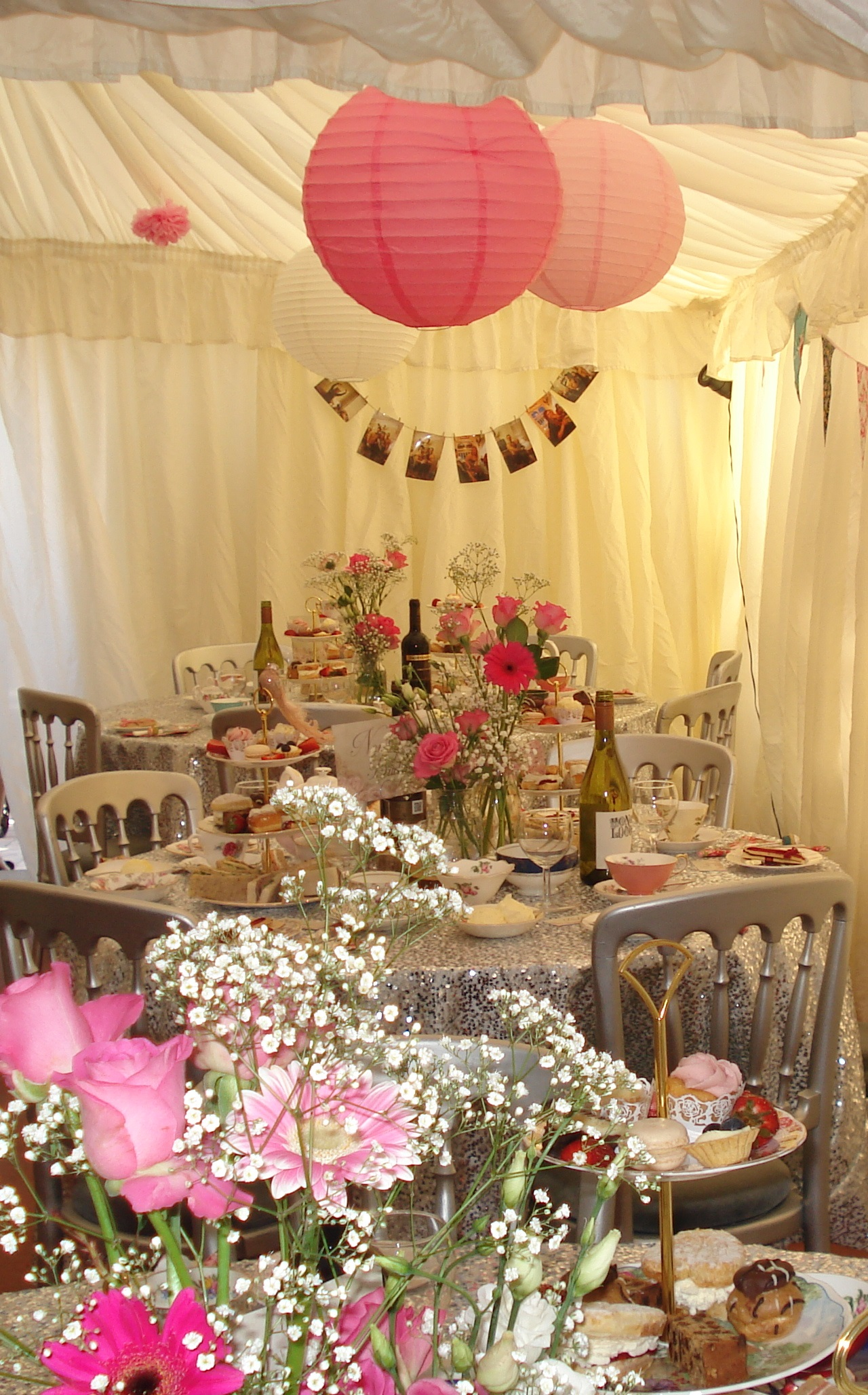 Wedding Tea Party Staffordshire