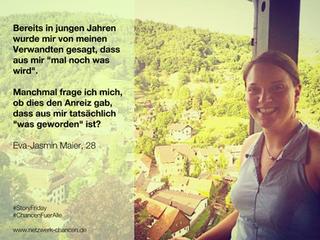 #StoryFriday: Eva-Jasmin Maier