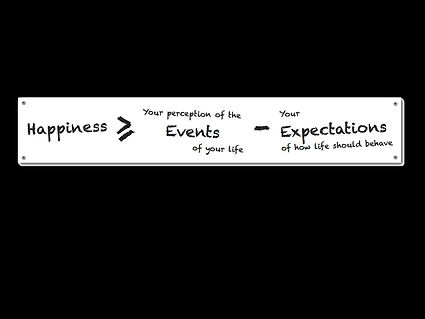 Solve for Happy Mo Gawdat Happiness Equation
