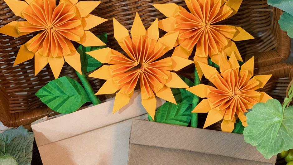 Pot of Sunshine Handmade Card