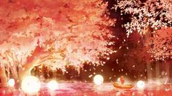 「Sakura Stroke」ミュージックイラスト(2018年)
