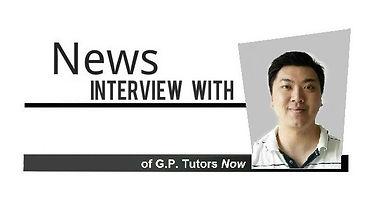 Interview with Shaun Soo, GP Tutors Now!